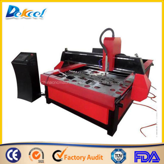 CNC Copper Plasma Cutting Machine Powermax 105A/200A for 20mm Metal Cutter pictures & photos