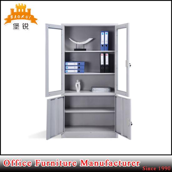 China 4 Door Metal Cupboard Steel Office Furniture Filing Cabinet