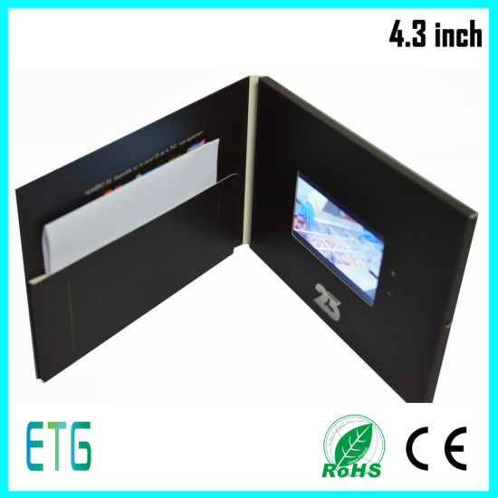 China top quality 43 inch video greeting card lcd video greeting top quality 43 inch video greeting card lcd video greeting cardlcd video brochure card m4hsunfo