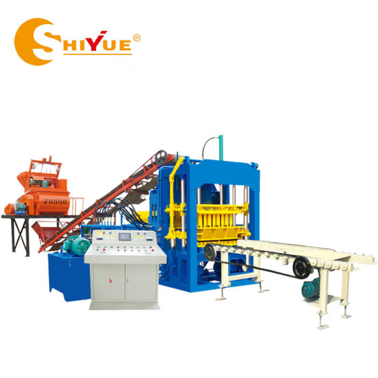 Qt4-15 Fully Automatic Hollow Solid Cement/ Concrete Block/Brick Making Machine Price