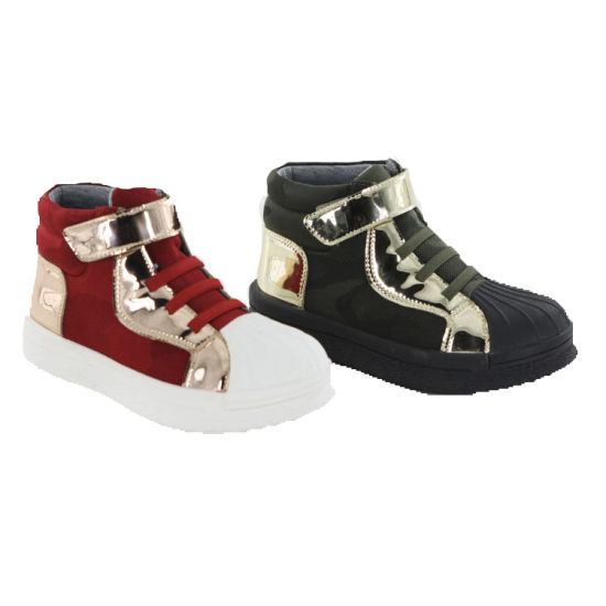 2018 China Factory High Quality Kids School Shoes