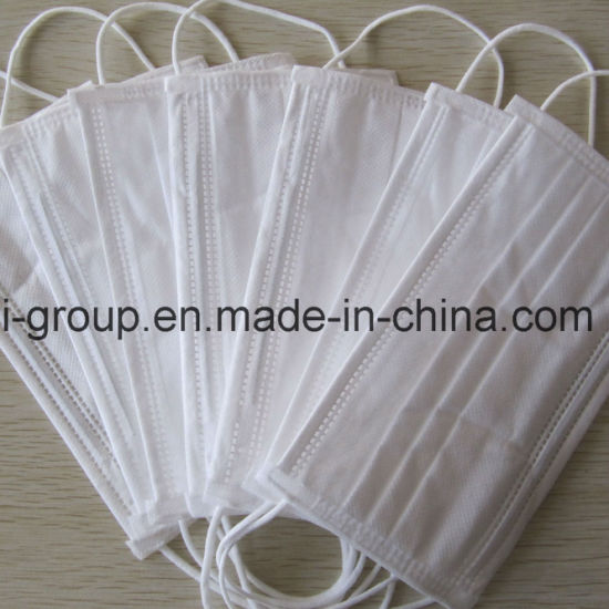 Disposable Nonwoven 3ply Face Mask with Earloops