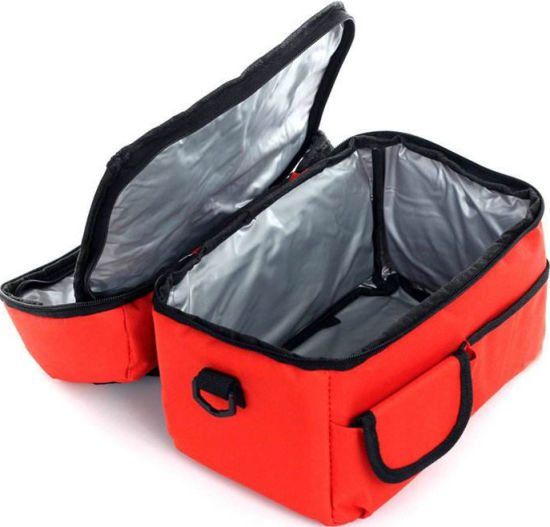 Polyester Cooler Bag, Custom Logo Wholesale Nylon 600d 420d Portable Food Insulated Tote Thermal Wine Can Beer Bottle Ice Lunch Picnic Camping Delivery Bag