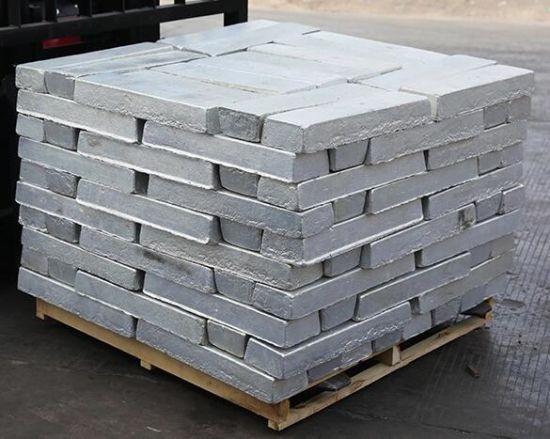 Silver Metal Magnesium Ingot Manufacturer