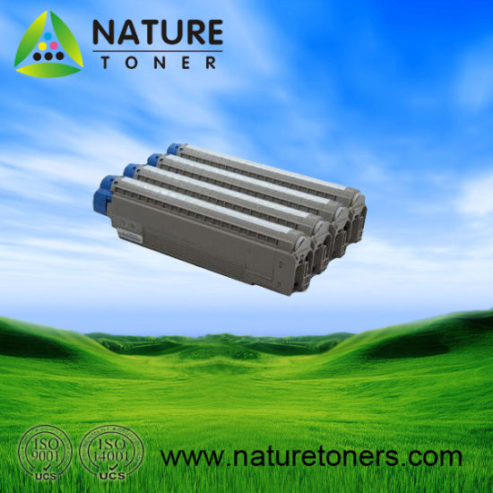 Compatible Color Toner Cartridge and Drum Unit for Oki C822