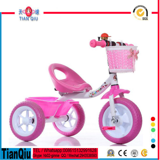 2016 New Children Tricycle Kids Trike Baby Tricycle pictures & photos