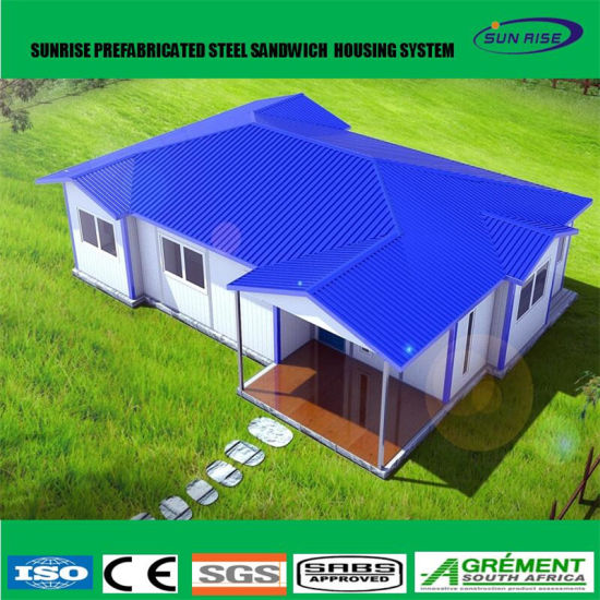 Superior Low Cost Construction Site Prefab Expandable Container House Prefabricated  Villa