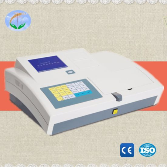 Clinical Equipment Semi-Automatic S5 Medical Biochemistry Analyzer pictures & photos