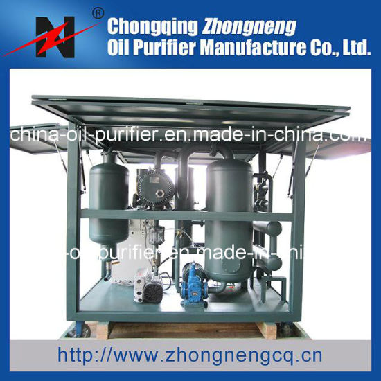 Used Insulating Oil Regeneration Purifier/Oil Recycling Plant (ZYD-I8)