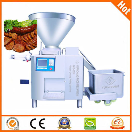 Vacuum Sausage Filling Machine with ABB Button