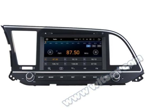 Witson Android 5.1 Car DVD GPS for Hyundai Elantra 2016with Chipset 1080P 16g ROM WiFi 3G Internet DVR Support (A5578) pictures & photos