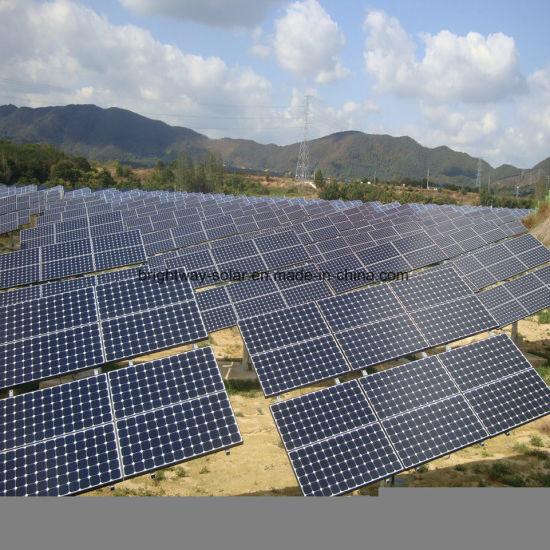 China 5000W 100kw Solar Tracker Solar Flat Single Axis