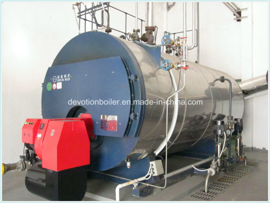 China Horizontal Gas, Oil, Dual Fuel Steam Boiler with European ...