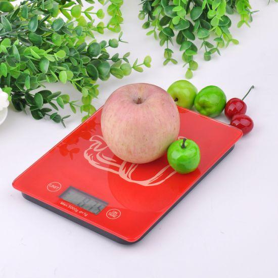 5kg Cheap Super-Slim Kitchen Scale From Original Factory
