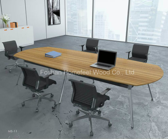 China Oval Shape Boardroom Conference Table HFYZ China - Oval shaped conference table