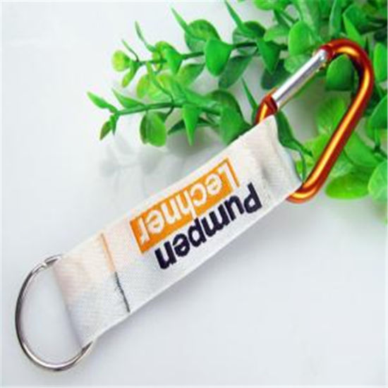 Promotion Gift Polyester Woven Lanyard Multiple NFL Olympic Premium Pouch pictures & photos
