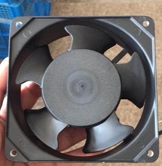 Small Aluminium Frame Axial Flow Draft Fan Motor Square Axial Motor