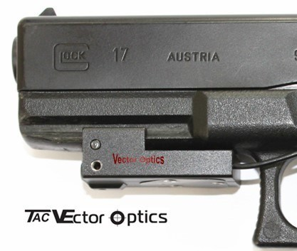 Compact Red Laser Sight Switch Fit Glock 20mm Rail pictures & photos