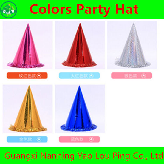 Manufacture Directly Sales Party Birthday Decorative Hat