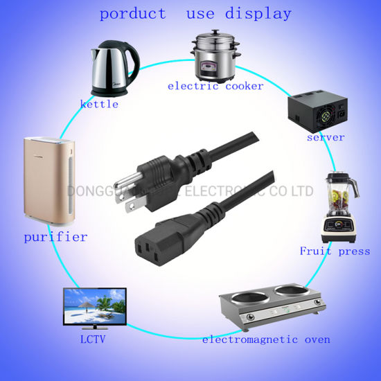 UL VDE AC Power Cord for Europe and North America Power Cable