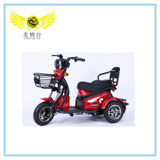 Hot Sales! Elegant Electric Tricycle Lightly Scooter and Tough for The Elderly Handicapped and Kids Delivery