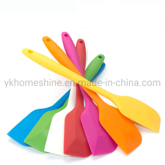 Heat Resistant Non-Stick Flexible Silicone Bakeware Spatula Cake Scrapers