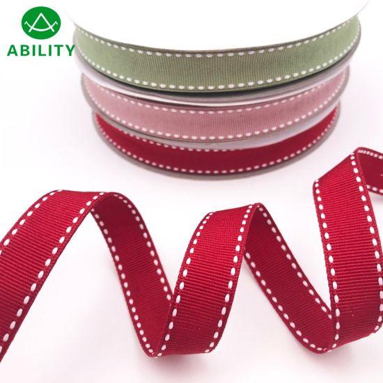 Popular Fashion Hot Sale Beautiful Webbing Ribbed Grosgrain Ribbon Tape