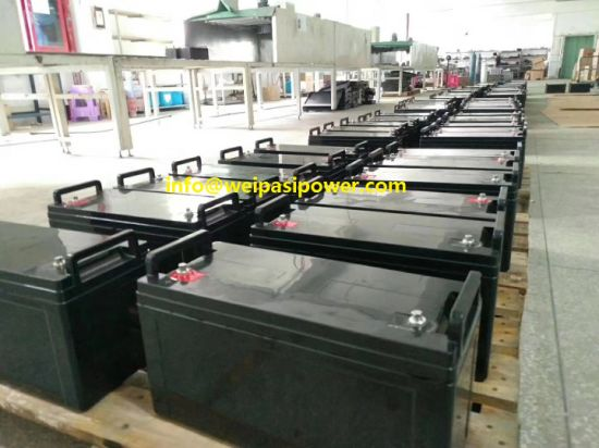 12V120AH 100AH Deep-Cycle AGM UPS CPS ECO Lead acid carbon Storage Sweeper Battery