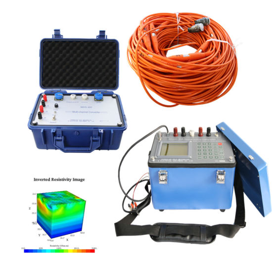 Geophysical Electrical Resistivity Tomography Equipment, Electrical Resistivity Imaging, Geoelectric Underground Water Finder and Geological Instrument