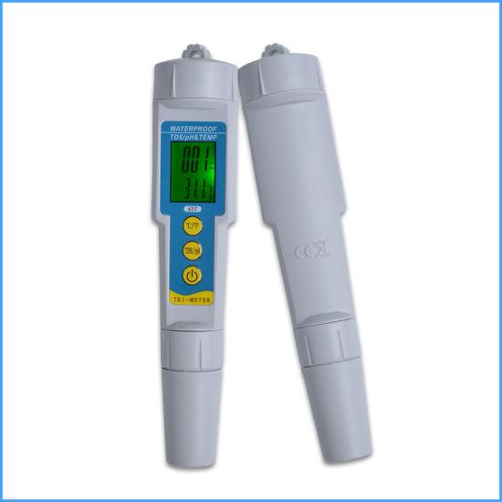 3 In1 Water Tester Multi-Parameter pH Monitor TDS pH Meter