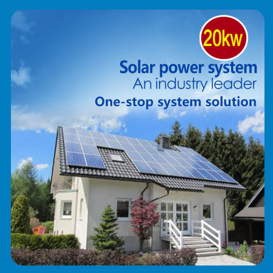 20kw on-Grid Home Solar Power System Longitech Energy System Household Solar Power System2