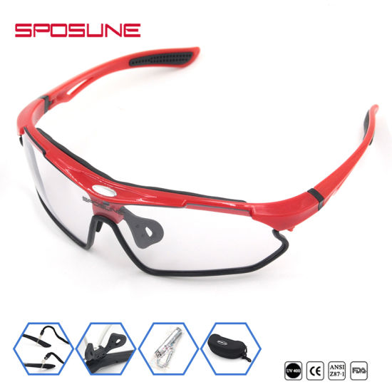 fd6af462de85 Sposune Polarized Cycling Goggles Bicycle Running Driving Fishing Sport  Sunglasses pictures   photos