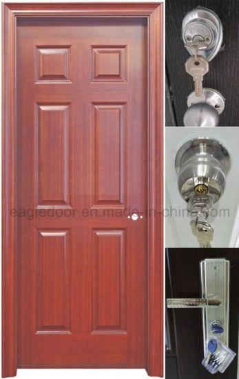 China Top Door American Steel Door Door Entry Wrought Iron Safety