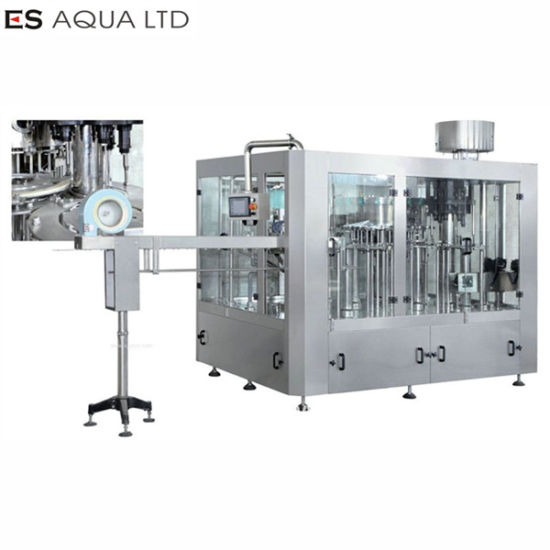 Mineral Water/Carbonated/Soft/Juice Drink Plastic/Glass/Can Bottling/Bottle 5L/10L Washing Filling Capping Labeling Packing Machine