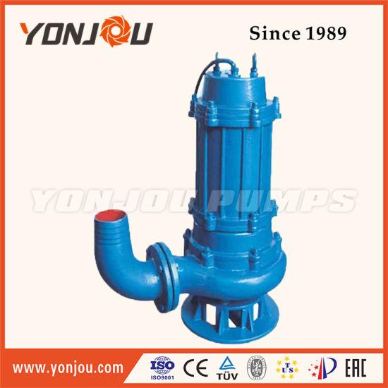 China Qw Submersible Sewage Pump Waterfall