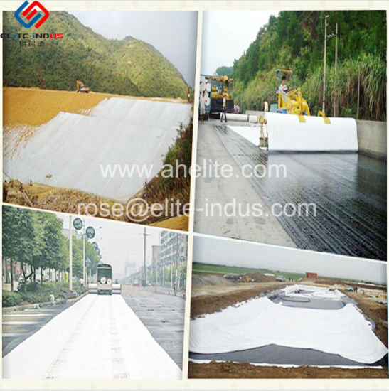 Nonwoven Stape Fiber Polypropylene Geotextile for Civil Engineering pictures & photos