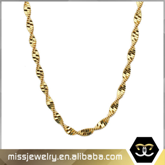 China Different Types Of Gold Necklace Chains Jewelry Designs China Gold Necklace And Gold Necklace Chains Price