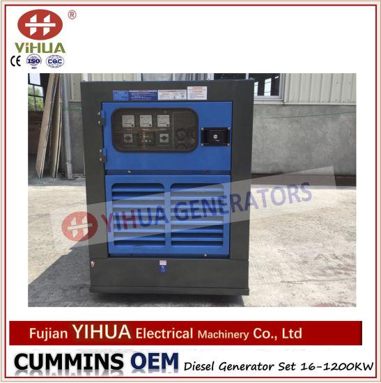 Electric Portable Power Generator Cummins Silent Canopy Diesel