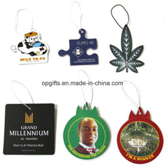 Promotional Gifts Hanging Paper Car Perfume Paper Car Fragrance Air Freshener pictures & photos