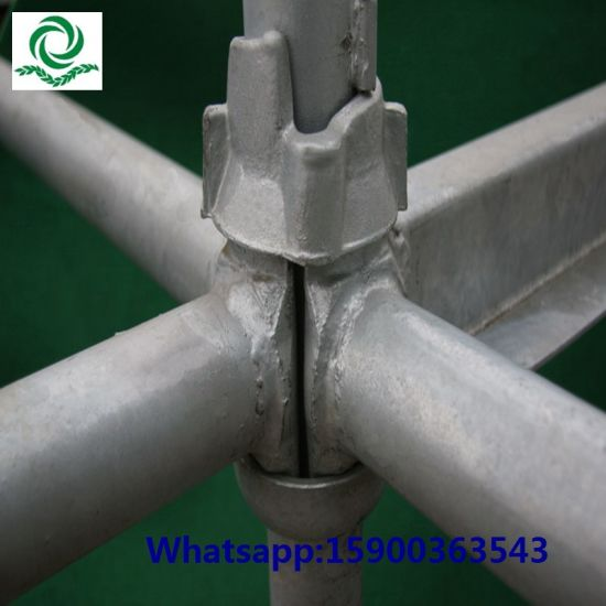 Customized Q345 Steel Cuplock Scaffold pictures & photos