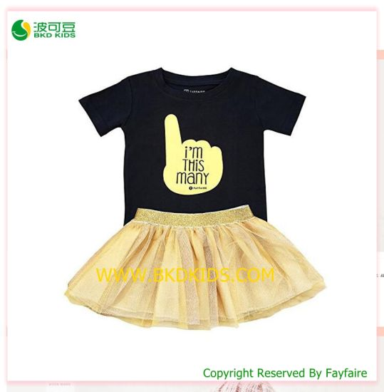 Summer Baby Clothes New Design Baby Girls Sets
