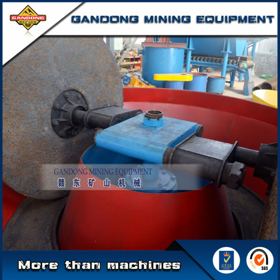 High Quality Wet Pan Mill Rock Ore Grinding Machine for Sale pictures & photos
