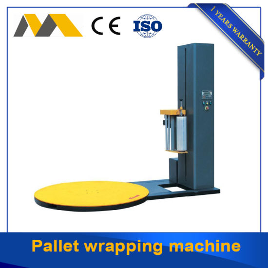 Professional Automatic Pallet Shrink Film Stretch Wrapping Machine Wholesale Pallet Packing Machine High Efficiency