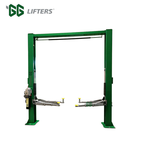 Clear Floor Two Post Car Lift Solutions for Repair Garage