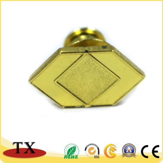 Souvenir Gift Metal Lapel Pin Gold Color Police Badge