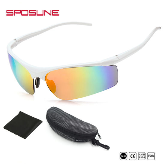 e00bf9e5a8c0 China Wrap Around Mirrored Trendy Outdoor Sunglasses Best Sports ...