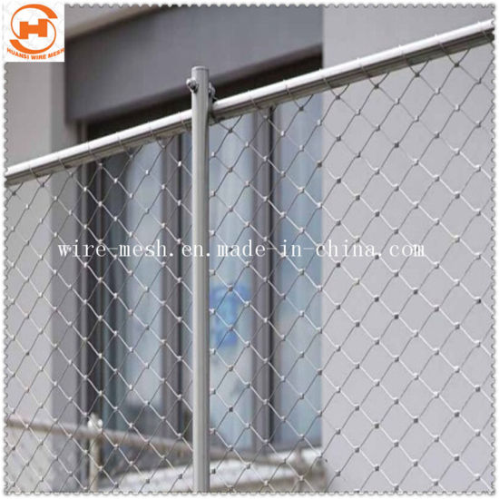 Stainless Steel Rope Wire Mesh/Decorative Rope Mesh/Woven Wire Mesh