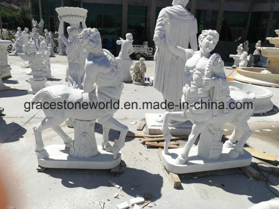 Pure White Marble Antique Statue pictures & photos