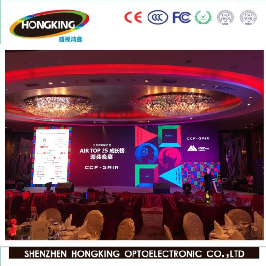 RGB Indoor P4 Full Color Creative Flexible LED Display pictures & photos