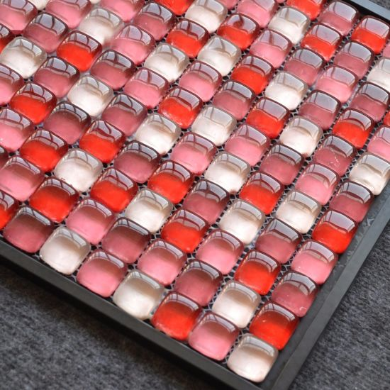 China Price for HK Living Room Wall Decoration Mixed Glass Mosaic ...